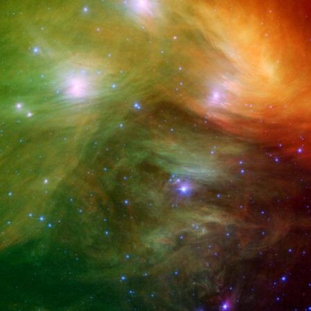 Pleiades NASA images